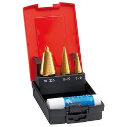 Blechschaelb.Stz.TiN 3-30,5mm FORMAT