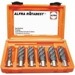 Kernbohrer-Set im Koffer 6-tlg./25mm Alfra