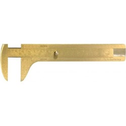 Knopfmaß Messing 80mm FORMAT