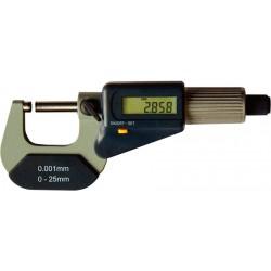 Bügelmessschr. DIGI o.D. 0- 25mm FORMAT