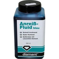 Anreiß-Fluid 500ml blau Diamant