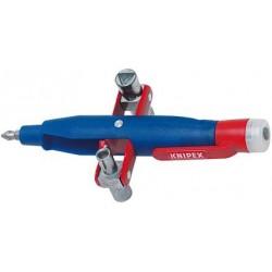 Schaltschrankschlüssel m.Spannungsfinder Knipex