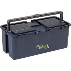 Werkzeugkoffer Compact 20raaco blau