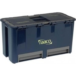 Werkzeugkoffer Compact 27raaco blau