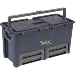 Werkzeugkoffer Compact 62raaco blau