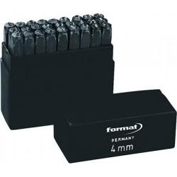 Schlagbuchstabensatz SH 2mm FORMAT