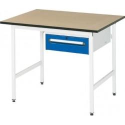 Grundtisch 3030,RAL7035 MDF 750x800mm