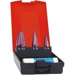 Blechschälb.Stz.TiAlN 3-30,5mm FORMAT