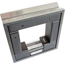 Rahmen-Richtwasserwaage 150x150mm/0,3mm/m Röckle