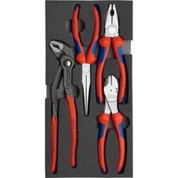 Zangensatz 4-teilig Basic Knipex