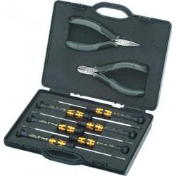 Elektronikzangen-Set 8tlg. ESD Knipex