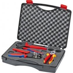 Werkzeugkoffer 3tlg. f.Photovolt. Knipex
