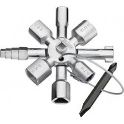 Schaltschrankschlüssel TwinKey Knipex