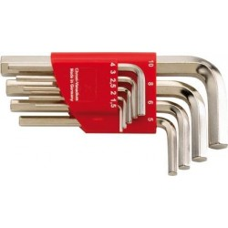 6kt-Schlüssel-Halter 1,5-10mm, 9tlg. FORMAT