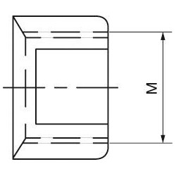 Verstellmutter Gr.000 M5x0,75 Beck