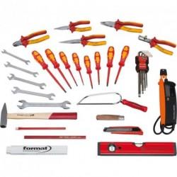 Elektriker-Werkzeugsatz 37tlg. FORMAT