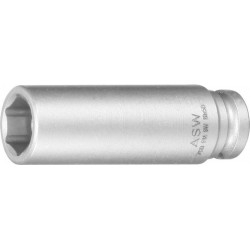 "Kr.-Steckschl.-Eins. 1/4"" 7mm Federmag. lang ASW"