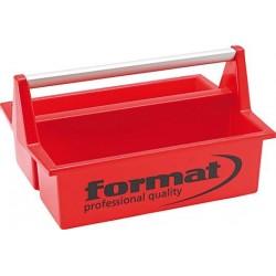 Werkzeugkasten rot 395x295x215 mm FORMAT