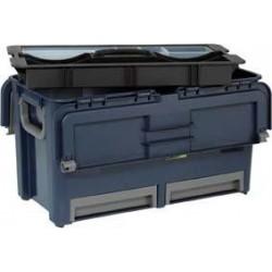 Werkzeugkoffer Compact 47raaco blau