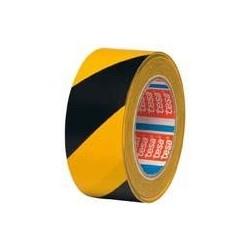 Tesa 4169 gelb/schwarz Warnband 33mx50mm