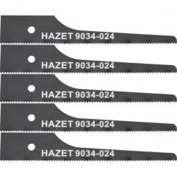 Ersatzsägeblatt a 5 stck 74 mm 24 Z Hazet