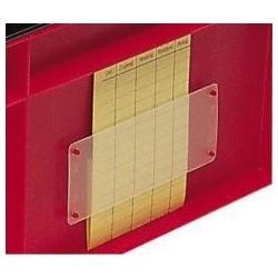 Etikettentasche für Stapeltransportkasten