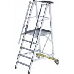 Plattformleiter Alu 5 Stufen klappbar