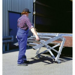 LM-Arbeitspodest fahrbar 2 Stufen, Stuf.be. 600mm