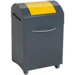Wertstoffbeh. 45 l grau/gelb, 685x380x320mm